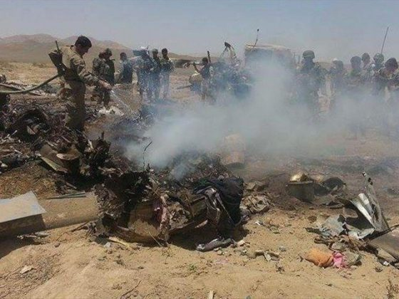 افغانستان میں بم دھماکے اور ہیلی کاپٹر گرنے سے 5 اہلکاروں سمیت 12 افراد ہلاک