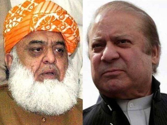 نواز شریف اور فضل الرحمان کا پی پی کے بغیر بھی تحریک جاری رکھنے پراتفاق