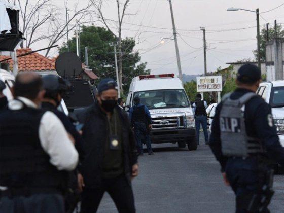 میکسیکو میں پولیس قافلے پر حملے میں 13 اہلکار ہلاک