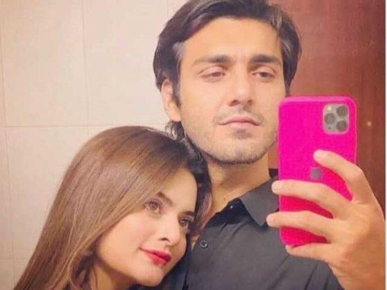 منال خان کی منگیتر احسن کیساتھ سوئمنگ کرتے ہوئے وائرل ویڈیو پر تنقید