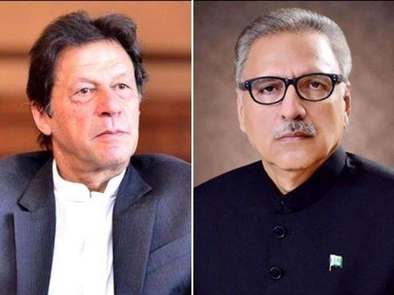 وزیراعظم اور صدر مملکت کا یوم پاکستان پر کشمیریوں کی حمایت جاری رکھنے کا عزم