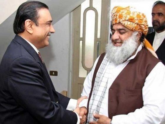سینیٹ اپوزیشن لیڈر ن لیگ کا ہونا چاہیے، فضل الرحمان کا آصف زرداری پر زور