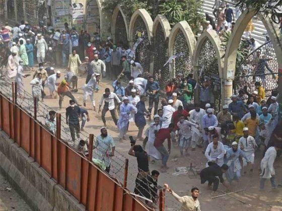 مودی کی بنگلہ دیش آمد پر شدید احتجاج، پولیس فائرنگ سے 4 افراد ہلاک