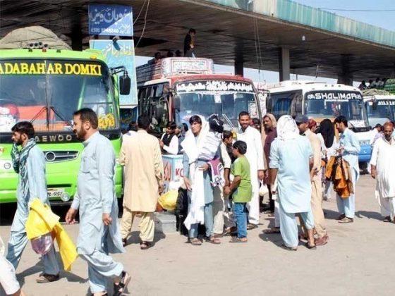 بین الصوبائی ٹرانسپورٹ ہفتے میں دو دن بند رکھنے کا فیصلہ