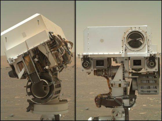 سیلفی بخار مریخ پر... مارس روور نے اپنی تازہ سیلفیاں بھیج دیں