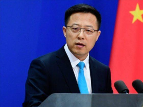 چین نے تائیوان سے کشیدگی کا ذمہ دار امریکا کو قرار دیدیا