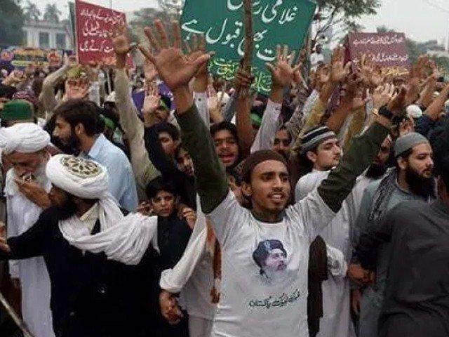 حکومت کا تحریک لبیک پاکستان پر پابندی لگانے کا فیصلہ