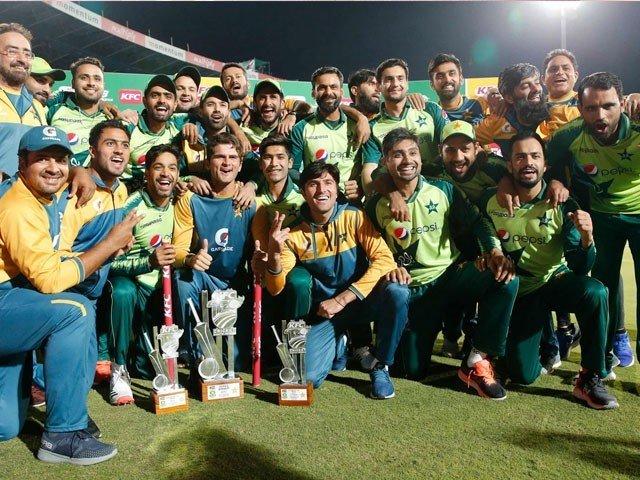 پاکستان نے چوتھے ٹی ٹوئنٹی میں جنوبی افریقا کو شکست دیکر سیریزاپنے نام کرلی