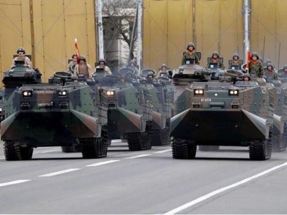 جاپان، امریکا اور فرانس کا مشترکہ جنگی مشقوں پر اتفاق