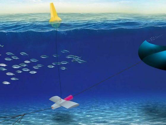پانی میں ڈوب کر بجلی بنانے والی پتنگ
