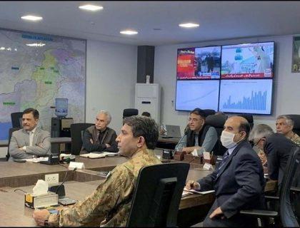 عید تعطیلات میں ایس او پیز پرعمل درآمد کیلئے ٹیمیں تشکیل دینے کا فیصلہ