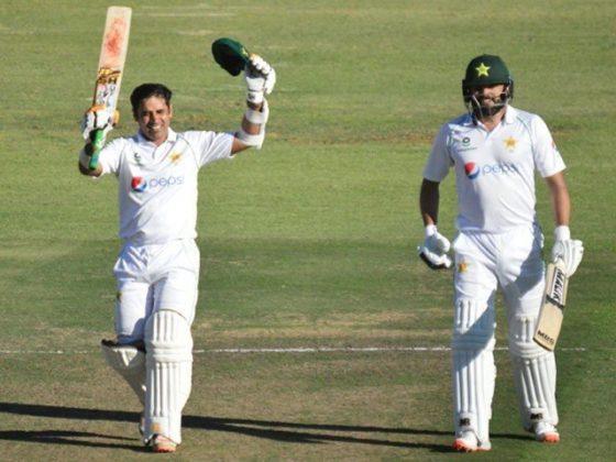 دوسرا ٹیسٹ پہلا دن؛ پاکستان نے 4 وکٹ کے نقصان پر 268 رنز بنالیے