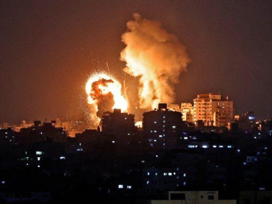 اسرائیل کا غزہ پر فضائی حملہ، بچوں سمیت 20 فلسطینی شہید