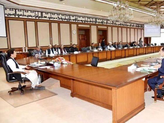 وفاقی کابینہ نے فلسطین کے لیے امدادی سامان بھجوانے کی منظوری دے دی