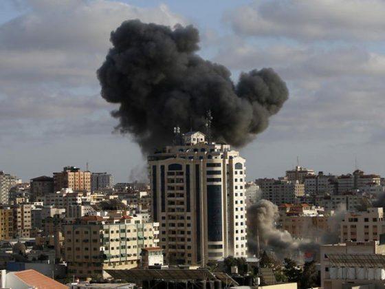 اسرائیل کی بمباری میں اسلامی یونیورسٹی کی عمارت تباہ، شہادتیں 217 ہوگئیں