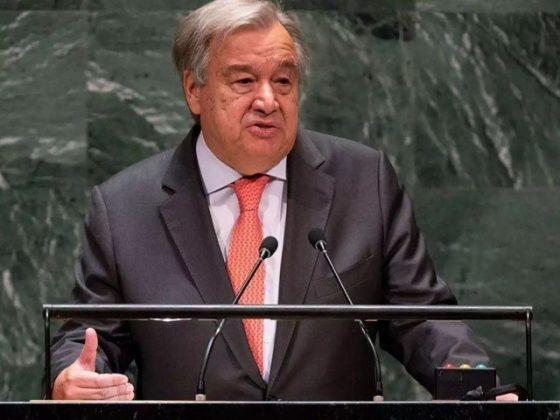 جنرل سیکریٹری اقوام متحدہ کا فلسطین اور اسرائیل سے فوری جنگ بندی کا مطالبہ