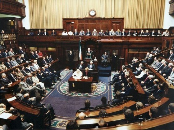 اسرائیل نے جبری طور پر فلسطینیوں کی زمین پر قبضہ کیا ہوا ہے، آئرش پارلیمنٹ