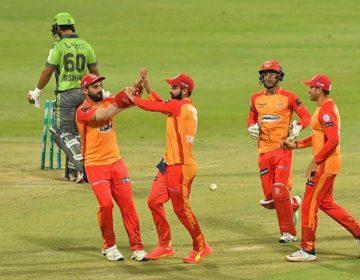 اسلام آباد یونائیٹڈ نے لاہور قلندرز کو شکست دیدی