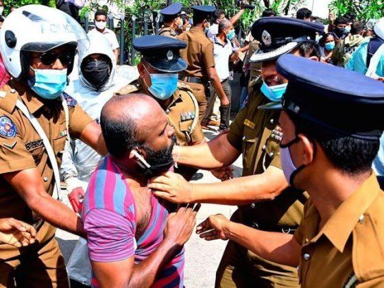 سری لنکا؛ کورونا ایس او پیز کے بہانے مسلمانوں پر فوج کے تشدد پر انکوائری کا حکم