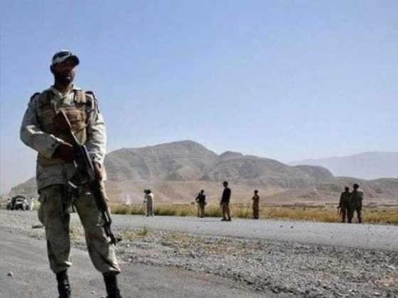 سبی بلوچستان میں دہشت گردوں کے حملے میں ایف سی کے 5 جوان شہید