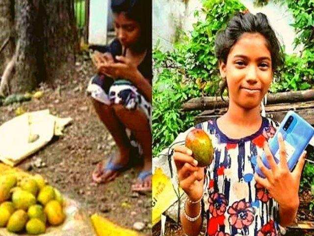 پڑھائی کیلیے پھل بیچنے والی طالبہ سے تاجر نے ایک درجن آم سوا لاکھ میں خرید لیے