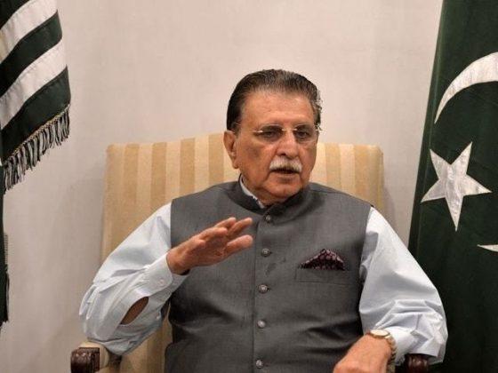 وزیر اعظم آزاد جموں و کشمیر کا سلامتی کمیٹی اجلاس میں شرکت نہ کرنے کا اعلان