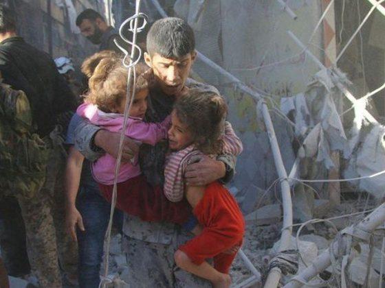 شام ؛ اتحادی افواج کی فضائی بمباری میں 6 بچوں سمیت 8 افراد جاں بحق