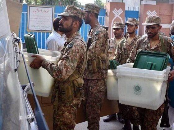 آزاد کشمیر میں عام انتخابات کے شفاف انعقاد کیلئے فوج کی تعیناتی کی منظوری