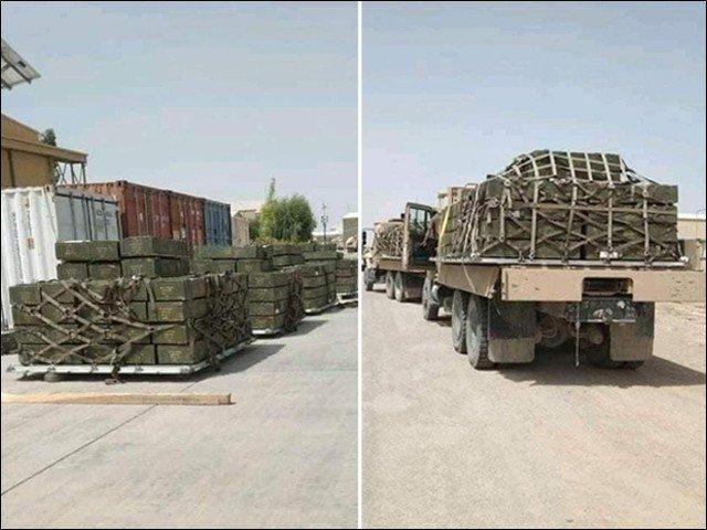 بھارت نے طالبان سے لڑائی کے لیے اسلحہ کی بڑی کھیپ افغانستان پہنچادی