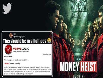 بھارتی کمپنی نے ملازمین کو 'منی ہیسٹ سیزن 5' دیکھنے کیلیے چھٹی دیدی