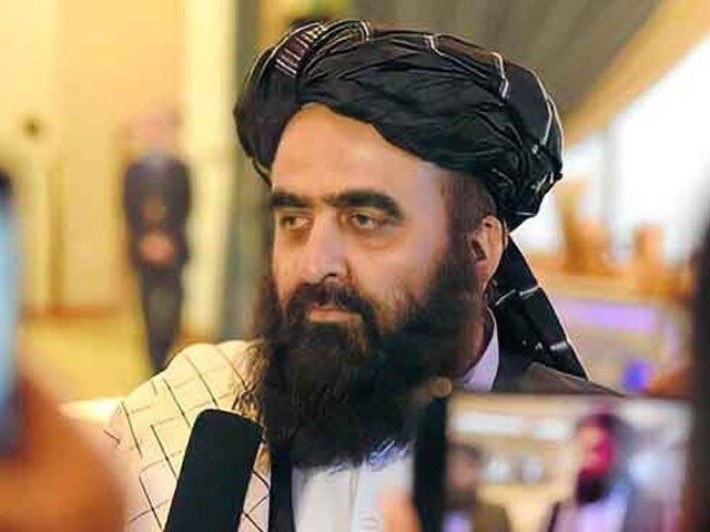 انسانی ضروریات کیلیے امداد پر پاکستان کے شکرگزار ہیں، طالبان وزیرخارجہ