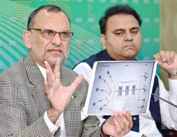الیکشن کمیشن نے الزامات لگانے پر فواد چوہدری اور اعظم سواتی کو نوٹس جاری کردیے