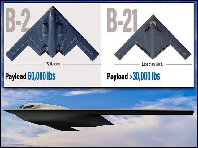 کیا امریکا اپنے جدید ''بی 21'' طیارے سے چین پر ایٹم بم برسائے گا؟