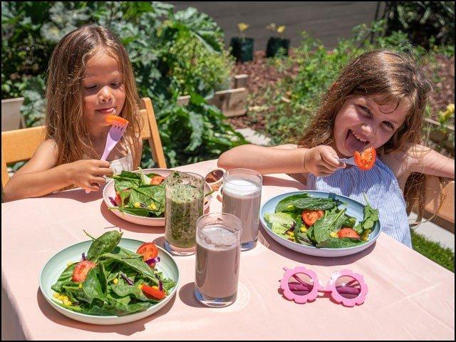 پھلوں اور سبزیوں سے بچوں کا دماغ مضبوط ہوتا ہے، تحقیق