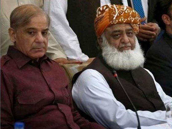 شہباز شریف اور فضل الرحمان کا ملک میں فوری انتخابات کا مطالبہ