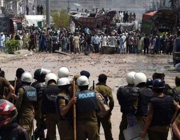 لاہورمیں کالعدم تنظیم کے کارکنان اور پولیس میں تصادم، 2 اہلکار جاں بحق